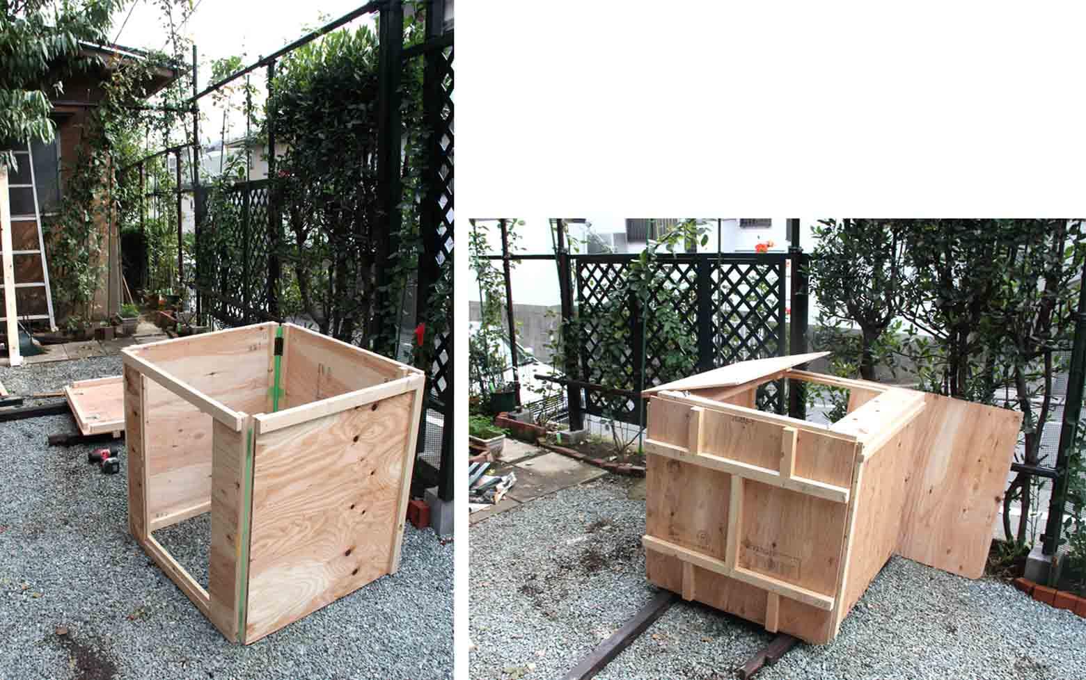 組み立てバークBOX(2)