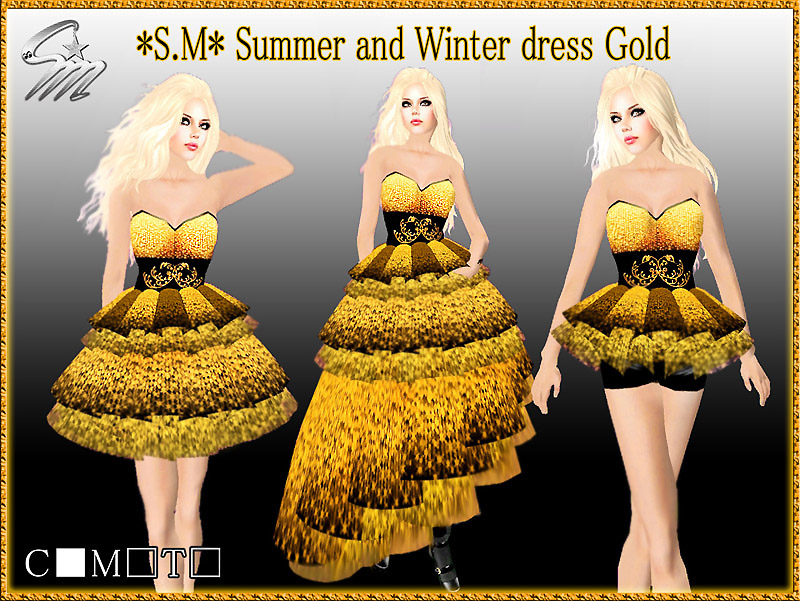 Summer and Winter dress Gold1_800