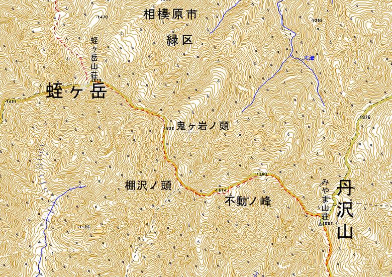 A006-15東丹沢(主稜線)