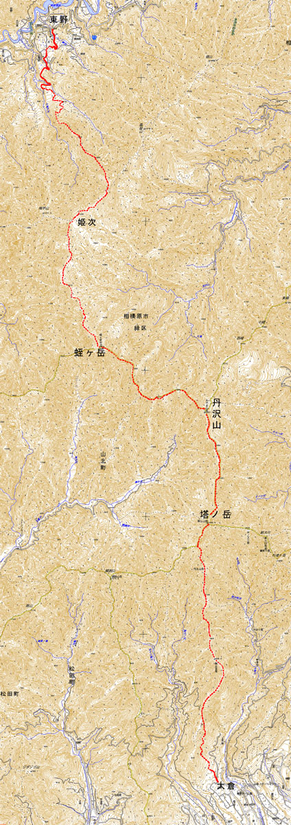 A006-16東丹沢