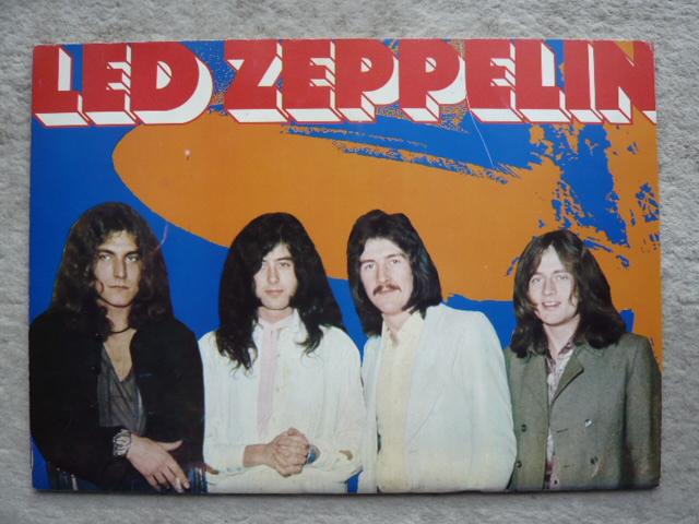 Led Zeppelin パンフ
