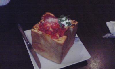 苺チーズケーキハニトー