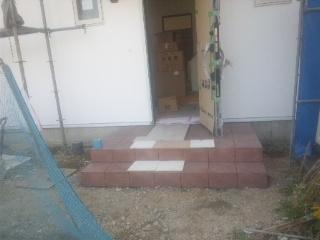 玄関タイル