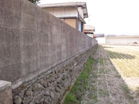 石垣からコンクリート擁壁へ (2)
