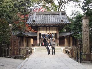清澄寺 -山門