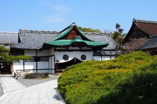 大覚寺-式台玄関