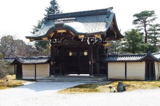 大覚寺-勅使門