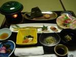 大沢温泉の夕食