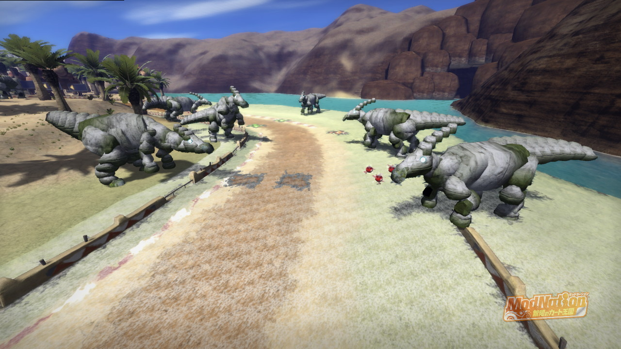 Dinosaur Canyonに合計18頭も生息