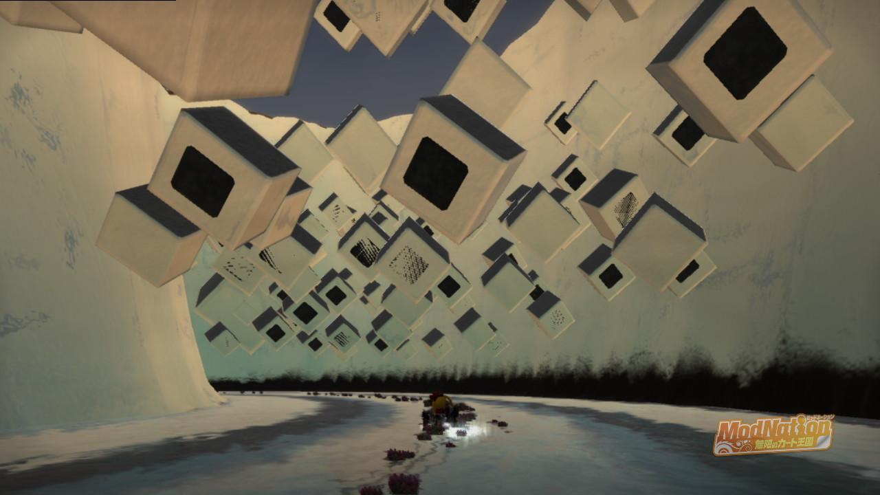 黒く点滅する謎のブロック・・・・・・