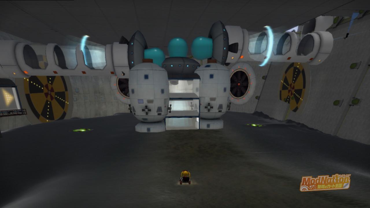 宇宙船の中心部?