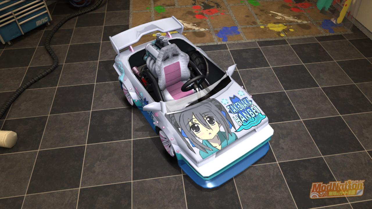 他の信奈キャラの痛車も作っております