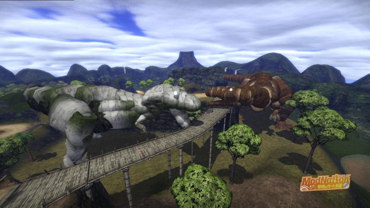 北米の巨大肉食恐竜VS南米の巨大肉食恐竜