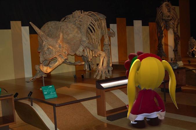大佐殿が創る恐竜たちは、実物を見た後だとやはりデカ過ぎると感じた