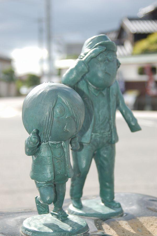 水木先生と鬼太郎