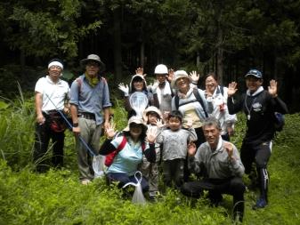 環境探検隊集合写真