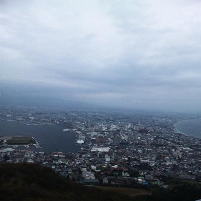 秋・函館山