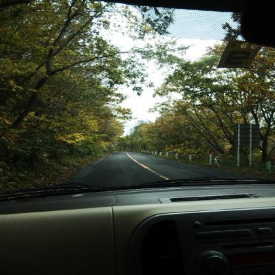 秋の函館山ドライブ