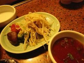 野菜と豚肉の蒸し物
