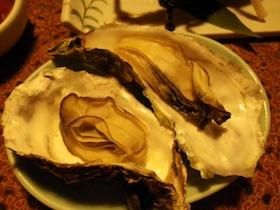 岩牡蛎 蒸したて