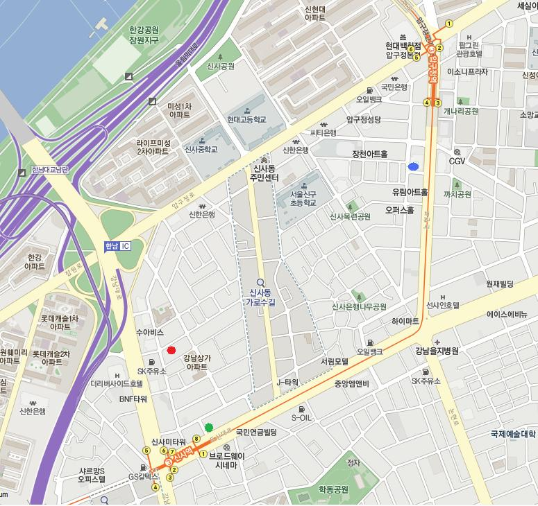 新沙地図2