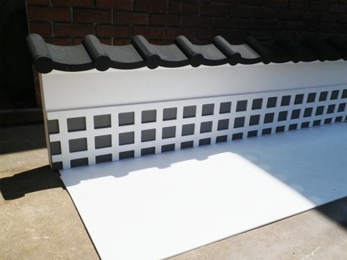 瓦屋根造形
