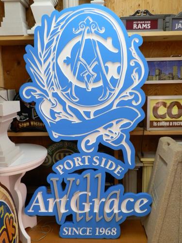 アートグレイス様スチロールオブジェ