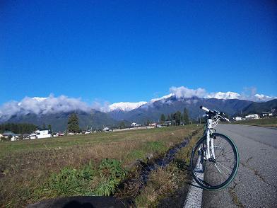 自転車通勤(2013年 秋)