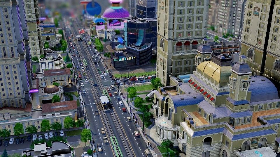 SimCity 5 キャプチャー画像の加工