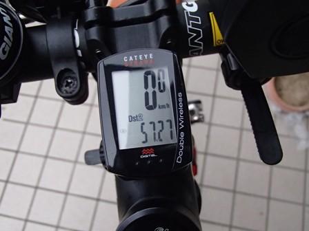 本日は57km