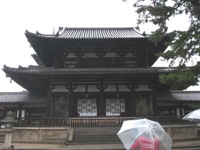 法隆寺・門