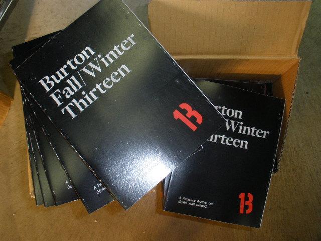13 BURTON カタログ