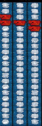 シーマスター2のリール配列
