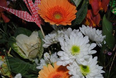 新年のお花アレンジ