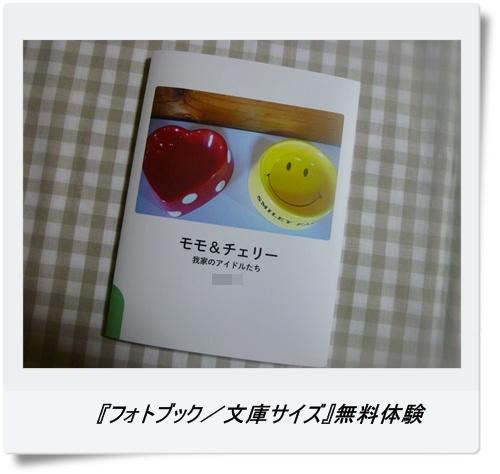 『フォトブック/文庫サイズ』無料体験
