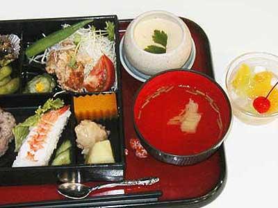 湊祭り行事食2