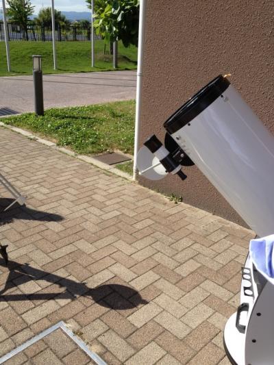 立派な望遠鏡!