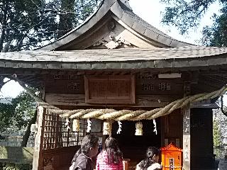 金鱗湖横の神社