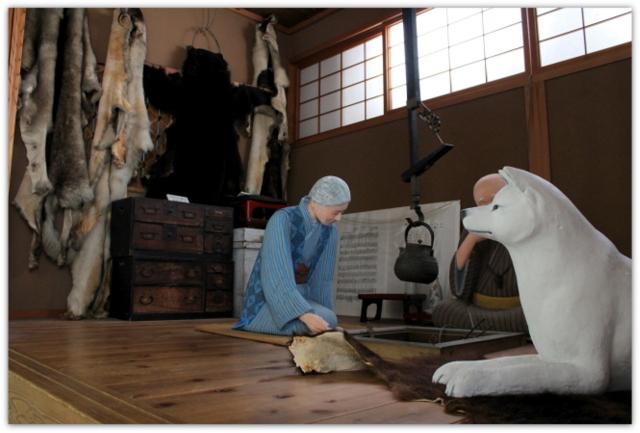 秋田県 大館市 秋田犬博物室