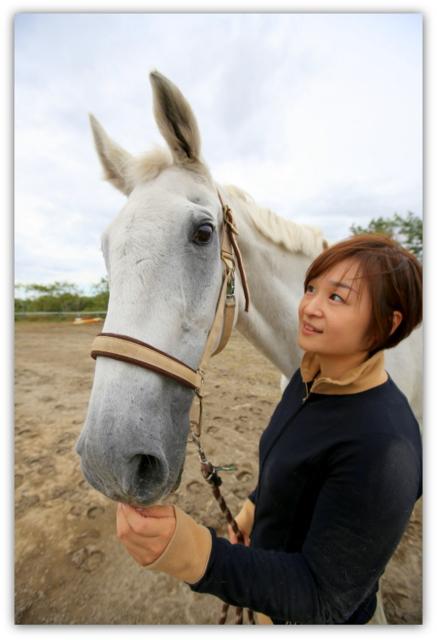 弘前馬術協会 ハリー 馬 記念撮影 出張撮影