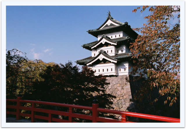 弘前 公園 写真 フイルムカメラ