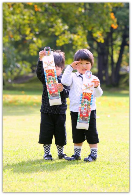 弘前 七五三 ロケ 出張撮影 子供写真 撮影 記念撮影