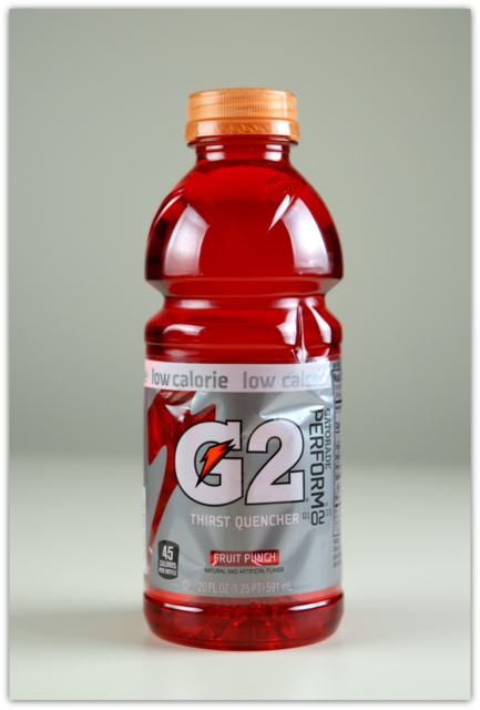 G2 GATORADE PERFORM THIRST QUENCHER FRUIT PUNCH low calorie