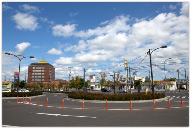 JR東日本 大湊線 下北駅 駅前 駅周辺 本州 最北
