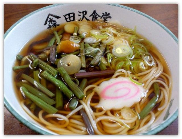 弘前市 茂森 田沢食堂