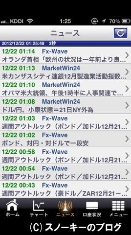 FXブロードネットiPhoneアプリ