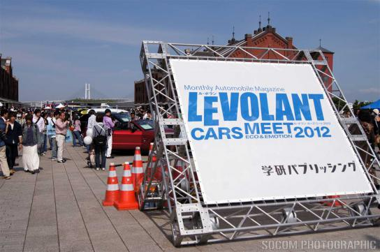 LEVOLANT CARS MEET 2012 in 赤レンガ倉庫