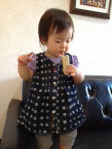 姪の可愛い咲姫ちゃん