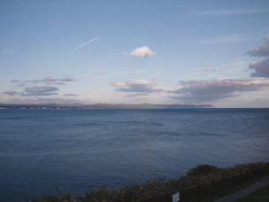立待岬から見た下海岸