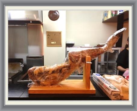 イベリコ豚の足